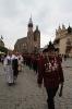 Kraków. Intronizacja króla kurkowego A.D. 2013-22